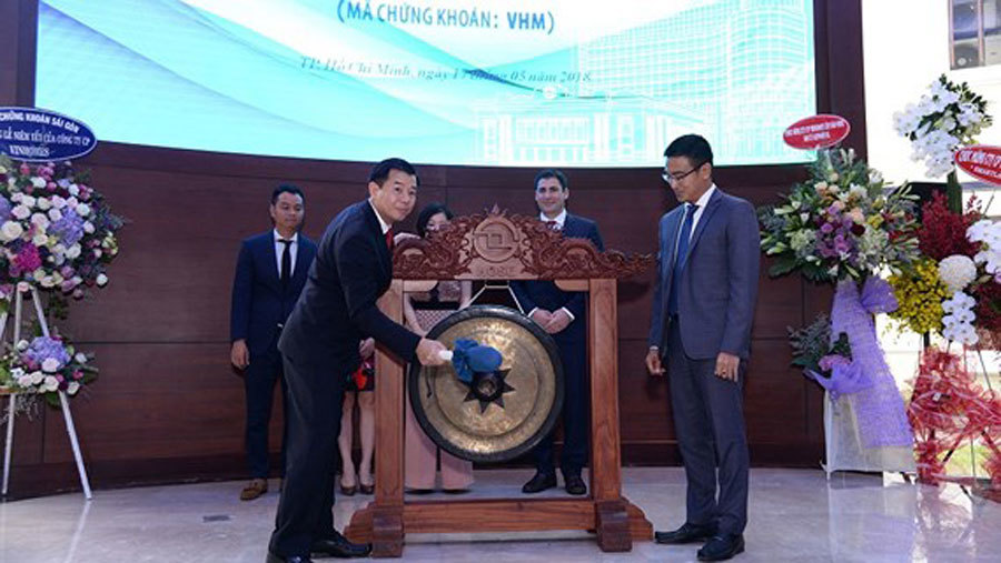 Vinhomes chính thức niêm yết 2,68 tỷ cổ phiếu