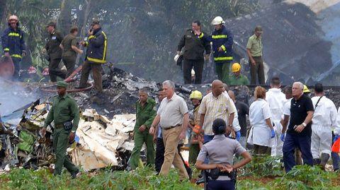 May bay Cuba gặp nạn