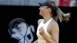 Sharapova nghẹt thở giành vé bán kết Rome Masters