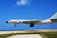 Trung Quốc lần đầu đưa máy bay ném bom chiến lược tới Hoàng Sa