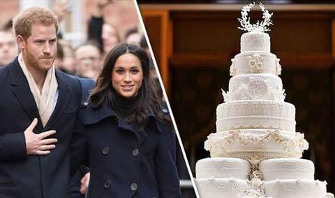 Bánh cưới hoàng tử Anh