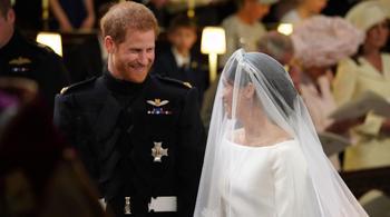 Những hình ảnh đặc sắc trong đám cưới Hoàng tử Harry