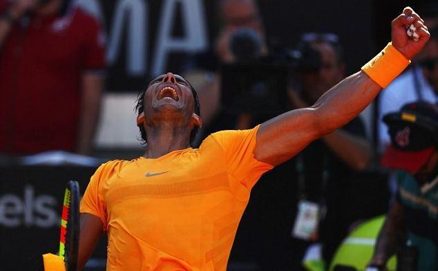 Hạ Djokovic, Nadal vào chung kết Rome Masters 2018