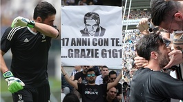 Buffon khóc nức nở ngày chia tay Juventus