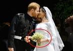 Điều bất ngờ về bó hoa cô dâu Meghan cầm trong đám cưới với hoàng tử Harry