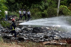 Thông tin mới về vụ rơi máy bay Cuba