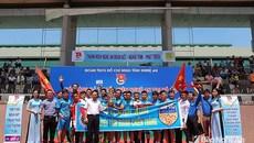 Giải bóng đá Thanh niên Nghệ An tại Hà Nội tìm ra đội vô địch