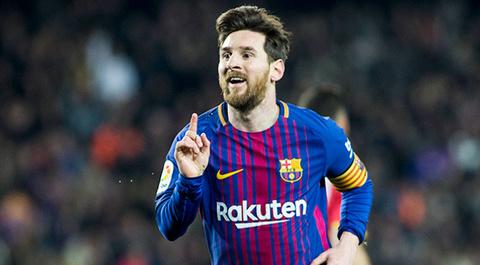 34 bàn thắng của Messi ở La Liga mùa 2017/18
