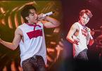 Sơn Tùng 'đốt cháy' sân khấu khi lần đầu hát live 'Chạy ngay đi'
