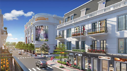 Vingroup ra mắt Vincom Shophouse Móng Cái