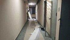 Sập trần chung cư ở Sài Gòn, nhiều người hoảng lọan