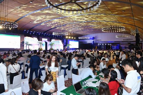 Toàn cảnh lễ giới thiệu dự án tại Trung tâm Hội nghị Quốc gia Việt Nam (Hà Nội).