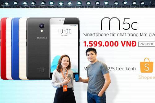Meizu M5c - Smartphone 4G gây sốt Indonesia đến Việt Nam