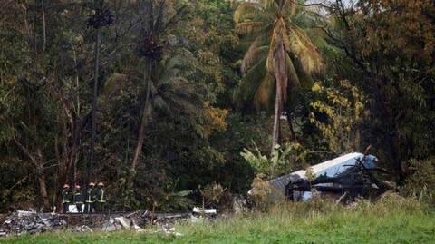 Tái hiện vụ máy bay Cuba rơi