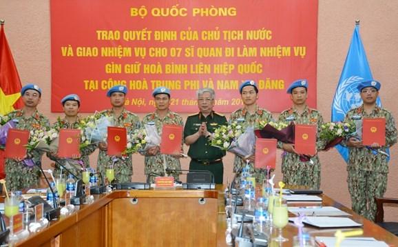 Bộ Quốc phòng triển khai quyết định của Chủ tịch nước về công tác cán bộ