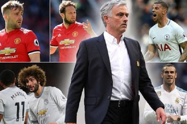 MU,Man City,Barca,Griezmann,Bale,Mourinho
