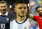 Danh sách World Cup 2018: Nhiều sao lớn khóc hận