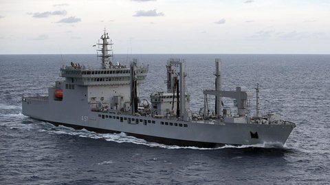 tàu chở dầu INS Shakti (A57) của Hải quân Ấn Độ