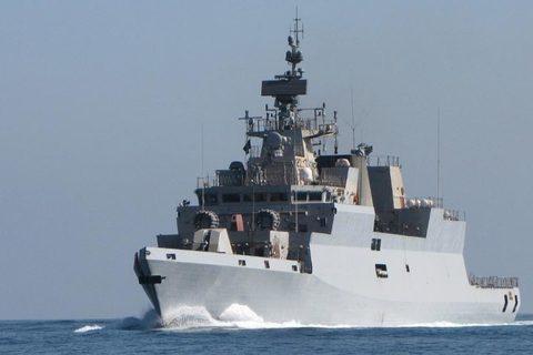 tàu hộ tống INS Kamorta (P28) của hải quân Ấn Độ