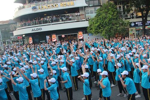 Kỷ lục Việt Nam: 1000 người nhảy Flashmob vì môi trường