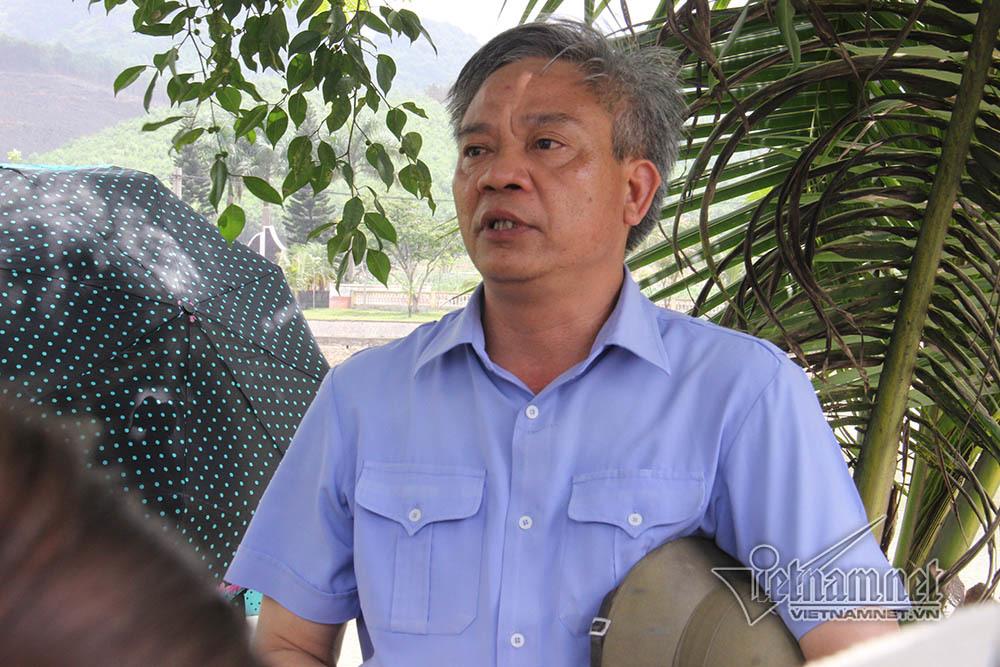 Ông Lê Minh Sơn - Phó giám đốc Sở LĐTB&XH tỉnh Quảng Ninh kiêm Giám đốc Trung tâm cai nghiện Vũ Oai