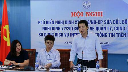 [VietnamNet.vn] Bỏ thủ tục rườm rà, xử nghiêm trang tin điện tử đội lốt báo chí
