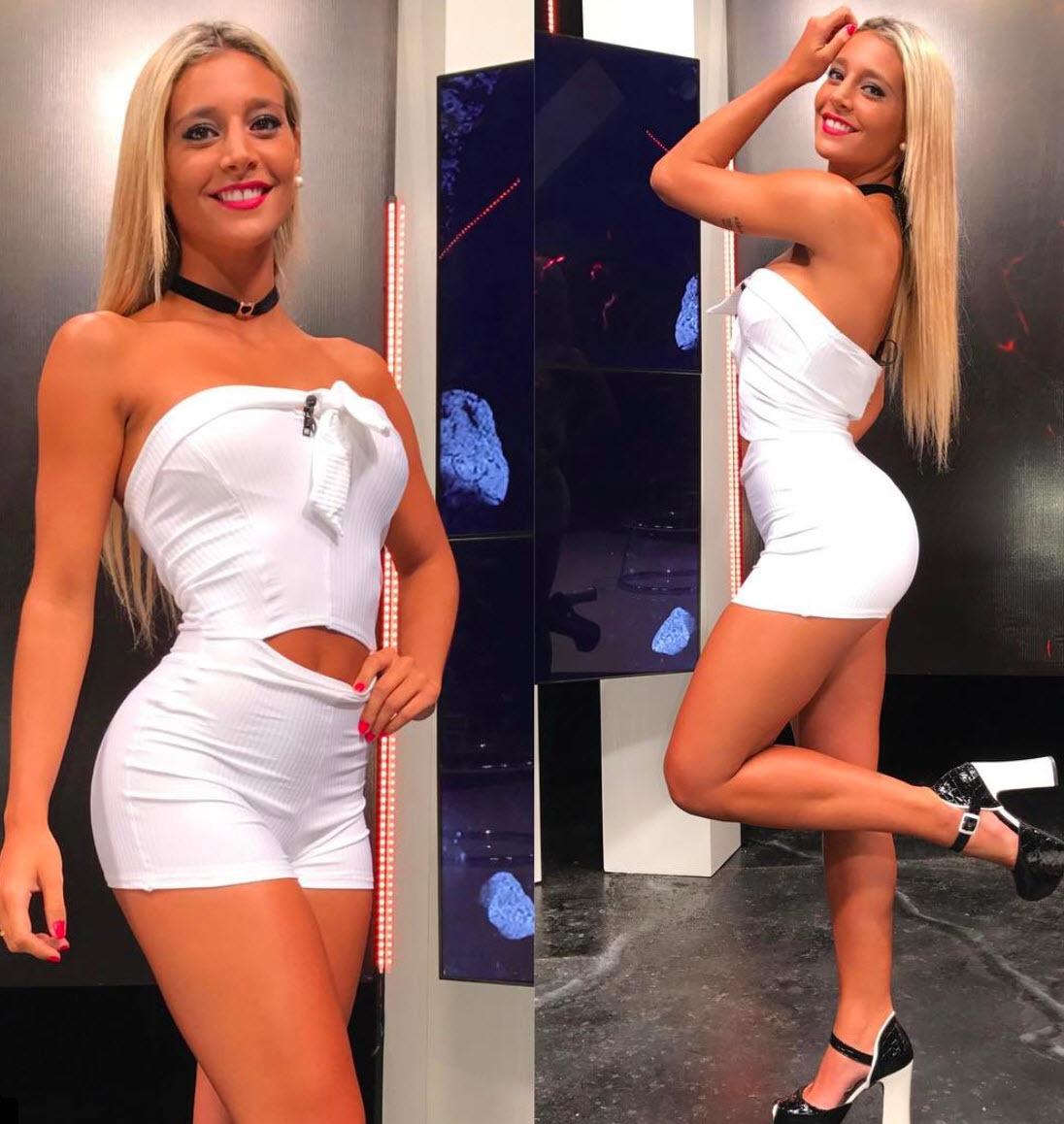 Nữ MC xinh đẹp khóc vì Argentina bỏ rơi Icardi