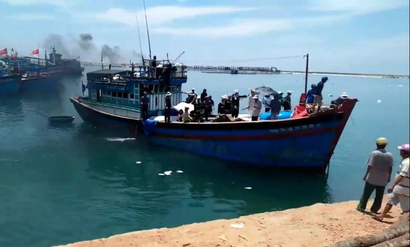 3 ngư dân Lý Sơn tử nạn trên biển do 'vật lạ' phát nổ