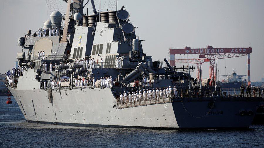 thượng đỉnh Mỹ - Triều,Donald Trump,Kim Jong Un,Mỹ,Triều,tàu chiến,tàu khu trục Mỹ
