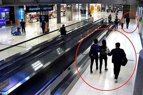 Bắt cóc tại sân bay Thái