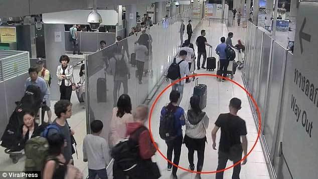 bắt cóc,du khách,sân bay,Bangkok,sân bay Suvarnabhumi