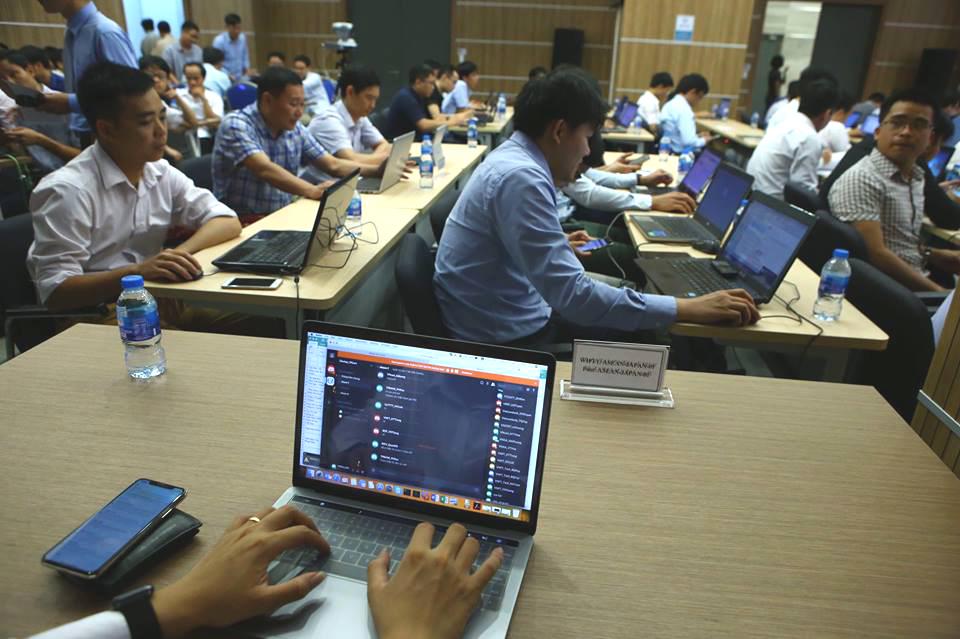 Diễn tập quốc tế ASEAN-Nhật Bản phòng chống tấn công DoS/DDoS