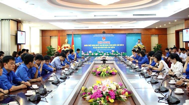 Bộ Thông tin và truyền thông,Thứ trưởng Phan Tâm,Đoàn thanh niên bộ TT&TT