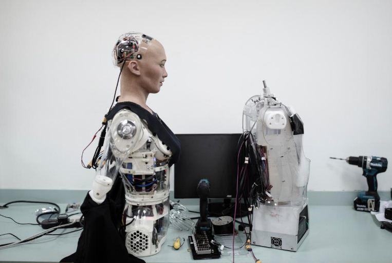 Robot,Trí tuệ nhân tạo,AI,Công nghệ