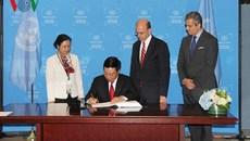 VN thành nước thứ 10 phê chuẩn Hiệp ước Cấm vũ khí hạt nhân