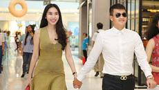 Thủy Tiên mặc cây hàng hiệu gần 300 triệu sánh đôi bên Công Vinh