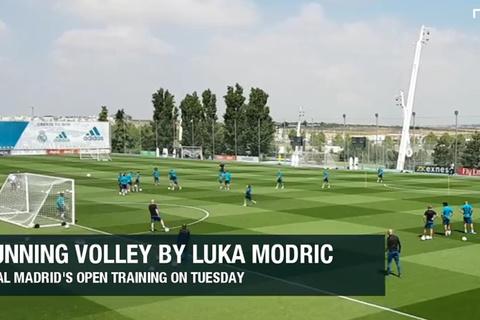 Video bàn thắng Luka Modric