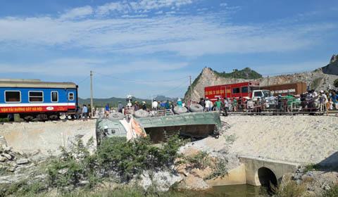 tai nạn đường sắt Thanh Hóa