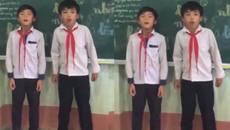 Hai học sinh đọc rap ngày tổng kết khiến người nghe thổn thức