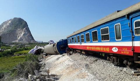 nhân chứng kể tai nạn tàu hỏa