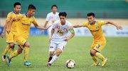 HAGL 0-0 SLNA: Công Phượng đối đầu Phan Văn Đức (H1)