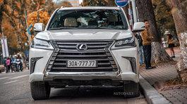 Lexus LX570 biển ngũ quý: Đẳng cấp đại gia, chơi xe hoành tráng
