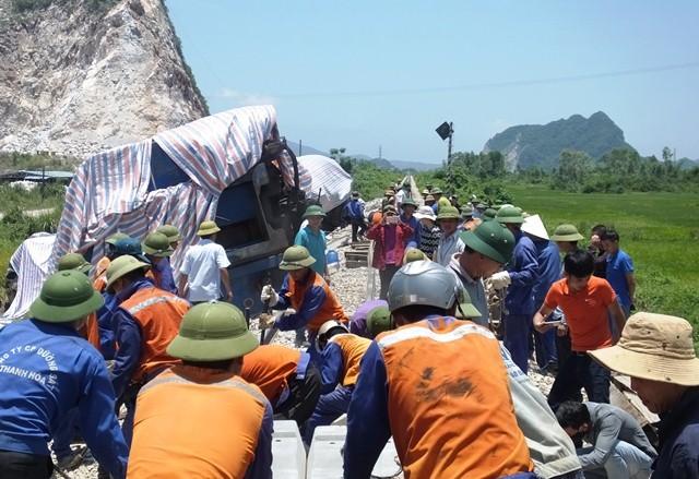 tai nạn đường sắt,Thanh Hoá,tai nạn giao thông