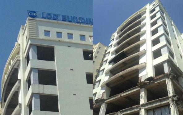 Số phận thê thảm của tòa cao ốc đất vàng Hà Nội