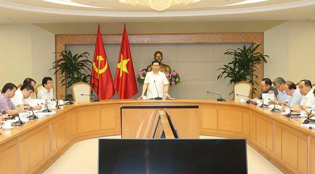 Phó Thủ tướng,Vương Đình Huệ,đầu tư công,bệnh viện,Bệnh viện Việt Đức,bệnh viện Bạch mai