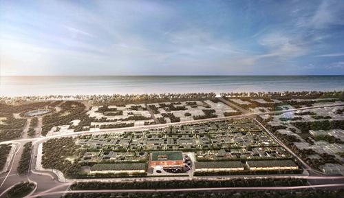 Biệt thự biển Bãi Trường hấp dẫn nhà đầu tư