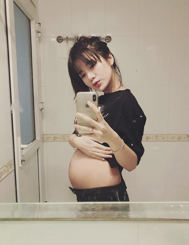 Hot girl,Bà bầu,Mang thai