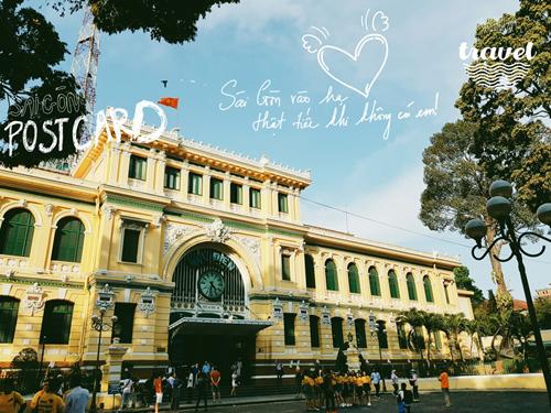 [VietnamNet.vn] Sáng tạo postcard Sài thành với S Pen