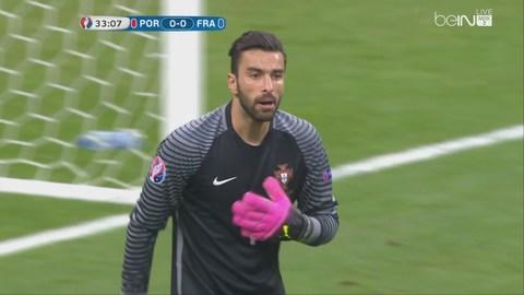 Rui Patricio vs chung kết EURO 2016