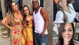 Ronaldinho cưới 2 vợ một lúc, dân tình xôn xao